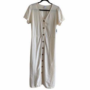 Old Navy Linen Blend Dress